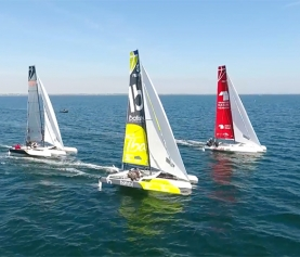 Vidéo bateaux du Tour de France à la voile 2017