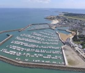Film de suivi chantier du Port Haligen (Quiberon) : agrandissement et réaménagement