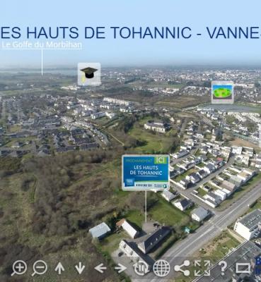 Panoramique 360 – les Hauts de Tohannic – Vannes