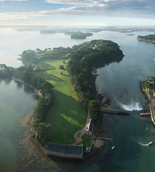 Photo aérienne Golfe du Morbihan