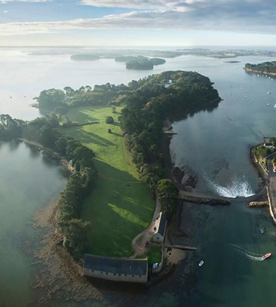 Photo aérienne Golfe du Morbihan