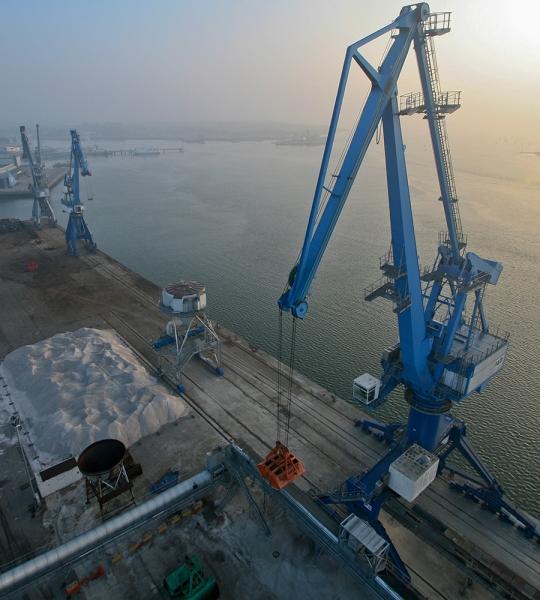 Photo aérienne port de Lorient