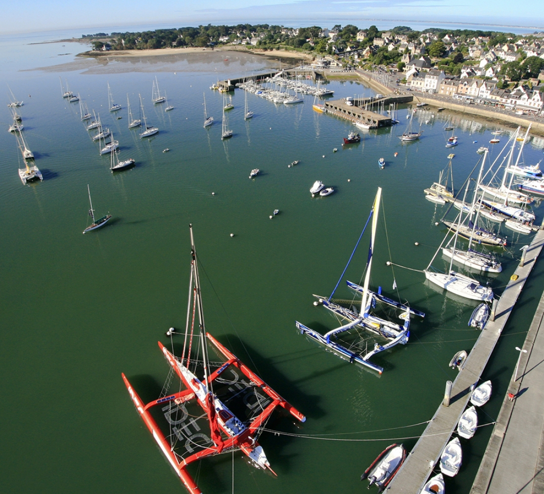 photo aerienne trinite sur mer