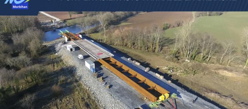 Vidéo de suivi chantier : lançage pont Blavet
