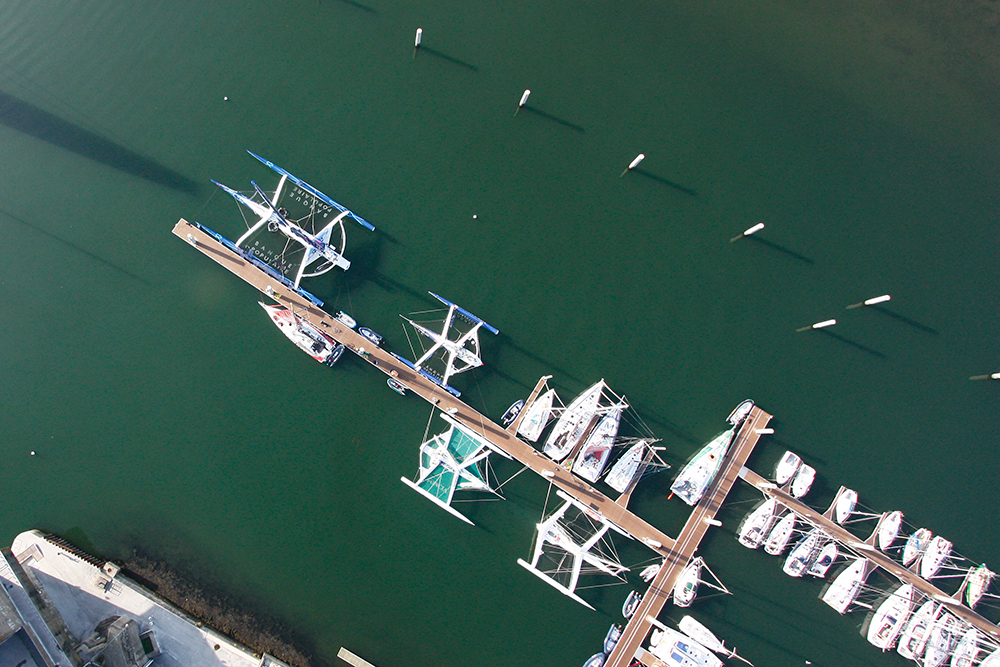 photo aerienne BSM de Lorient