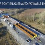 Découvrez la vidéo de suivi chantier : lançage pont BlavetDans le cadre du contournement Nord de Pontivy au coeur de la Bretagne, le conseil Départemental du Morbihan nous a confié le suivi de l'opération de lançage du pont métallique au dessus du Blavet.Prestation Auteurs de Vues :vidéo dronephoto aériennetime lapsemontage vidéolançage du pont de blavet